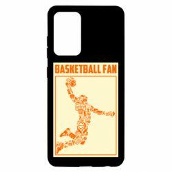 Чохол для Samsung A52 5G Basketball fan