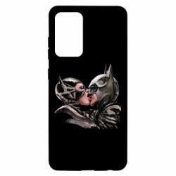 Чехол для Samsung A52 5G Batman and Catwoman Kiss