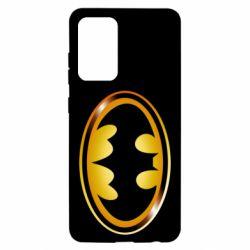 Чохол для Samsung A52 5G Batman logo Gold