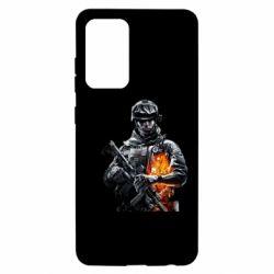 Чехол для Samsung A52 5G Battlefield Warrior