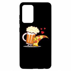 Чохол для Samsung A52 5G Beer and Pizza were kissed