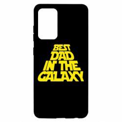 Чехол для Samsung A52 5G Best dad in the galaxy