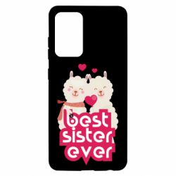 Чохол для Samsung A52 5G Best sister ever