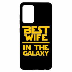 Чехол для Samsung A52 5G Best wife in the Galaxy