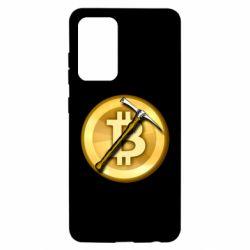 Чохол для Samsung A52 5G Bitcoin Hammer