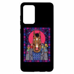 Чехол для Samsung A52 5G Bojack Horseman icon