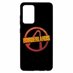 Чехол для Samsung A52 5G Borderlands logotype