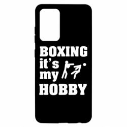 Чохол для Samsung A52 5G Boxing is my hobby