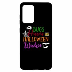 Чохол для Samsung A52 5G Bugs Hisses and Halloween Wishes