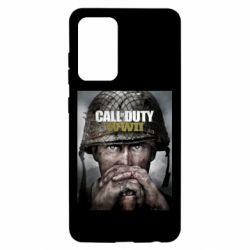 Чохол для Samsung A52 5G Call of Duty WW2 poster