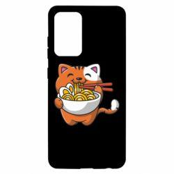 Чохол для Samsung A52 5G Cat and Ramen