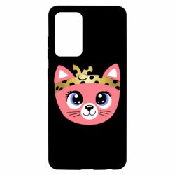 Чехол для Samsung A52 5G Cat pink