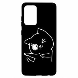 Чохол для Samsung A52 5G Cheerful kitten