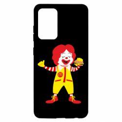 Чохол для Samsung A52 5G Clown McDonald's