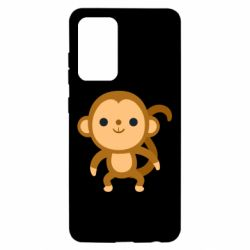 Чохол для Samsung A52 5G Colored monkey