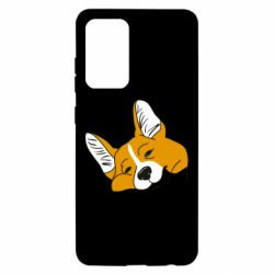 Чохол для Samsung A52 5G Corgi is dozing