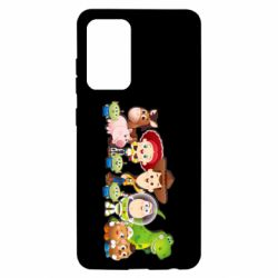 Чохол для Samsung A52 5G Cute characters toy story