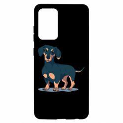 Чохол для Samsung A52 5G Cute dachshund