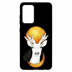 Чохол для Samsung A52 5G Deer and moon