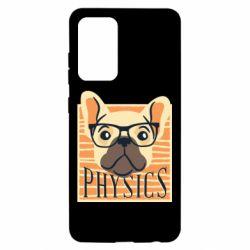 Чехол для Samsung A52 5G Dog Physicist