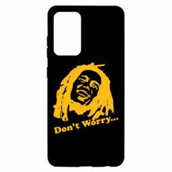 Чохол для Samsung A52 5G don't Worry (Bob Marley)