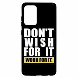 Чохол для Samsung A52 5G Dont wish