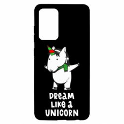 Чехол для Samsung A52 5G Dream like a unicorn