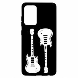 Чохол для Samsung A52 5G Дві гітари