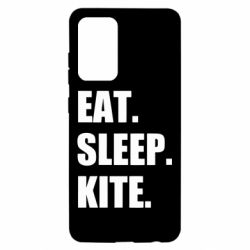 Чохол для Samsung A52 5G Eat, sleep, kite