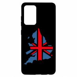 Чехол для Samsung A52 5G Флаг Англии