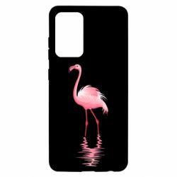Чохол для Samsung A52 5G Фламинго