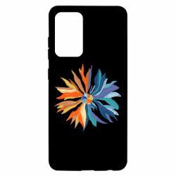 Чохол для Samsung A52 5G Flower coat of arms of Ukraine