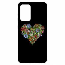 Чохол для Samsung A52 5G Flower heart