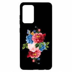Чохол для Samsung A52 5G Flowers and butterfly