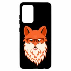 Чохол для Samsung A52 5G Fox with a mole in the form of a heart