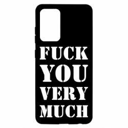 Чехол для Samsung A52 5G Fuck you very much