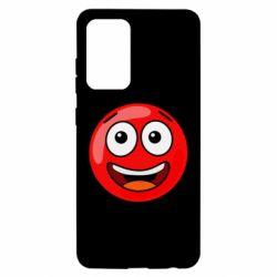 Чохол для Samsung A52 5G Funny Red Ball