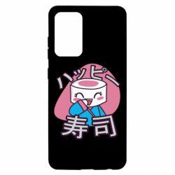 Чехол для Samsung A52 5G Funny sushi