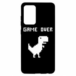 Чехол для Samsung A52 5G Game over dino from browser