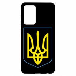 Чохол для Samsung A52 5G Герб України з рамкою