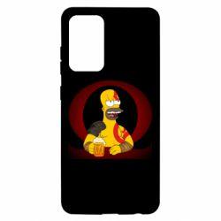 Чохол для Samsung A52 5G God of war: Simpson