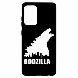 Чохол для Samsung A52 5G Godzilla and city