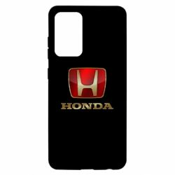 Чехол для Samsung A52 5G Gold Honda