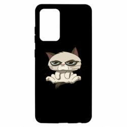 Чохол для Samsung A52 5G Grumpy Cat Art nope