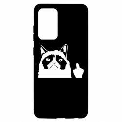 Чохол для Samsung A52 5G Grumpy cat F**k Off