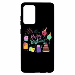 Чохол для Samsung A52 5G Happy Birthday