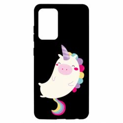 Чехол для Samsung A52 5G Happy color unicorn