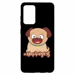 Чехол для Samsung A52 5G Happy pug