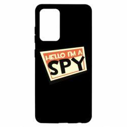 Чохол для Samsung A52 5G Hello i'm a spy
