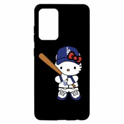 Чохол для Samsung A52 5G Hello Kitty baseball